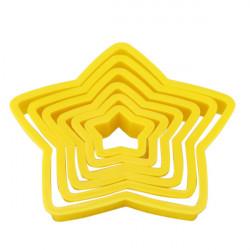 6stk Stern Kuchen Ausstechform Backen Käse Prägeform