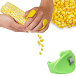 ABS Plastic Stainless Steel Manual Corn Peeler Kitchen,Dining & Bar