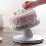 Adjustable Tiltable Cake Decorating Turntable Revolving Cake Stand Kitchen,Dining & Bar