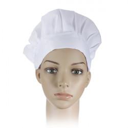 Voksen Elastisk Hvid Chef Hat Baker BBQ Køkken Cooking Hat Kostume Cap