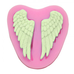 Angel Wings Silicone Fondant Mold Chocolate Polymer Clay Mould