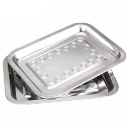 BBQ Tools stainless Steel Food Plate Grill Barbecue Plate