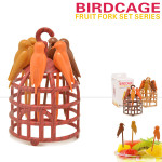 Birdcage Fruit Fork Birds Fork Cutlery Kitchen,Dining & Bar
