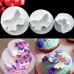 Butterfly Shape Cake Sugarcraft Cookies Plunger Cutter Mold