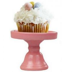 Keramisk Kage Stand Mini Cupcake Dessert Plate Bryllup Fødselsdag Brug