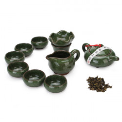 China Kung Fu Tea Special-purpose Ice Crack Glaze Tea Ware Set