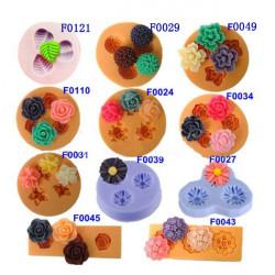 Schokolade Jelly 3D Form Mini Silikon Fondant DIY Blumen Kuchen Form