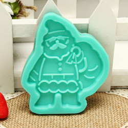 Christmas Gift Santa Claus Chocolate Cake Mold