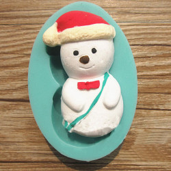 Christmas Snowman Chocolate Cake Mold Candy Fondant Sugar Mould