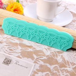 Classic Flower Instant Silicone Mould Fondant Lace Mold