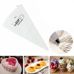 Cotton Pastry Icing Cream Piping Bag 3 Sizes