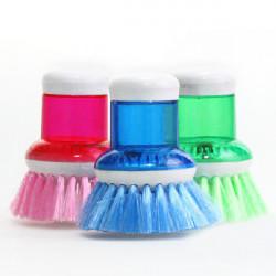 Creative Add Liquid Wash Pot Bowl Cleaning Brush
