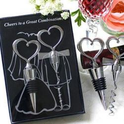 Creative Love Hjerte Formd Rødvin Oplukker Set