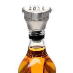 Creative Zink Alloy Bottle Lösenordsskydd Vin Stopper