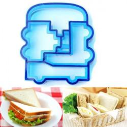 DIY Tårta Bread Toast Sandwich Car Baking Cookie Cutter