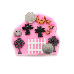 DIY Chocolate Fondant Cake Decorating Mold Resin Flower Mould