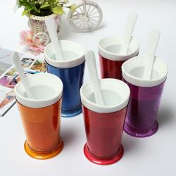 DIY Tasty Slush Shake Maschine Smoothies Eiscreme Milchshake Cup