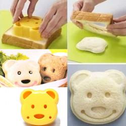DIY Plast Björn Tårta Cutter Sandwich Toast Bread Maker