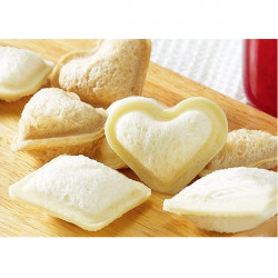 DIY Sandwich Heart Mould 4 Holes Bread Cutter Love Mould