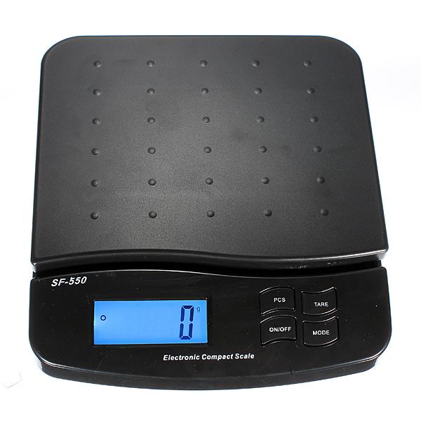 Digital 25kg 55lb Parcel Letter Postal Postage Weighing LCD Kitchen,Dining & Bar