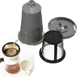 Durable Metal Coffee Filter Mesh Reusable Cup Maker