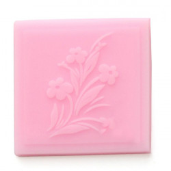 E0067 Silicone Embossing Lace Flower Cake Mould Fondant Bake Mould