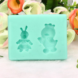 Easter Rabbit Cake Mold Silicone Handmade Soap Mould