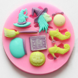 F0491 Silicone Magic Cake Mould DIY Chocolate Soap Decoration Mould