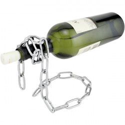 Floating Magic Chain Wine Bottle Holder Champagne Stand