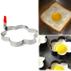 Flower Fried Egg Mold Pancake Shaper Cooking Kitchen Tools Mould