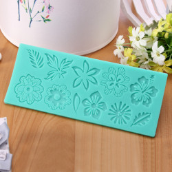 Flower Leaf Lace Mold Cake Mould Silicone Baking Tools