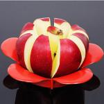 Flower Shape Apple Corer Slicer Divider  Fruit Cutter Kitchen,Dining & Bar