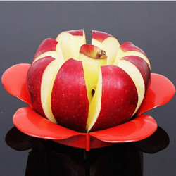 Flower Shape Apple Corer Slicer Divider  Fruit Cutter
