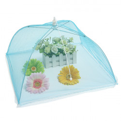 Foldable Mesh Food Cover Umbrella Fly Proof Table Cover