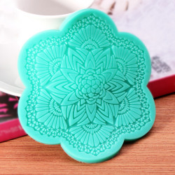 Fondant Cake Mould Lace Silicone Mold Sugar Art Tools
