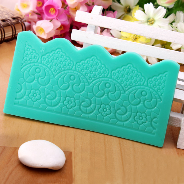 Fondant Cake Silicone Stencil Lace Mold Cake Decorating Mould Kitchen,Dining & Bar