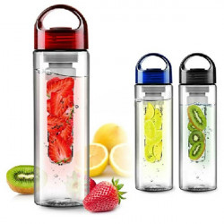 Fruit Infuser Water Bottle Sports Health Lemon Juice Bottle