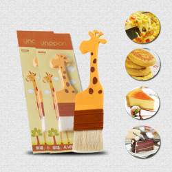 Giraffe Wool Brush Egg Brush Grill Brush Oil Brush Bakeware Tools