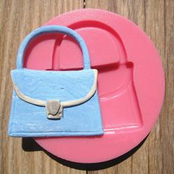 Handbag Shape Silicone Fondant Mold Chocolate Polymer Clay Mould