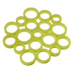 High-temperature Circular Silicone Insulation Table Mat