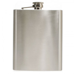 Hip Liquor Alcohol Flask 18 oz With Stainless Steel Screw Cap