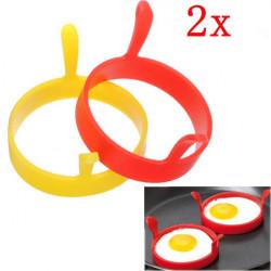 Køkken Silikone Fried Æg Runde Ring Form Modellering