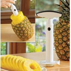 Köksredskaps Frukt Ananas Corer Skivare Cutter Peeler