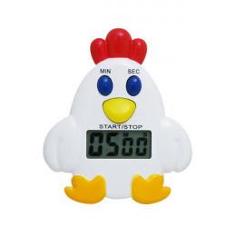 LCD Chicken Timer Klocka Digital Kök Timer Med Larm