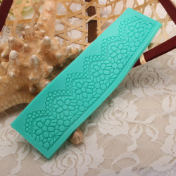 Lace Cake Mold Silicone Fondant Cupcake Decoration