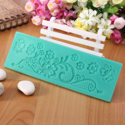 Lace Decorative Mold Fondant Sugar Craft Silicone Cake Mould