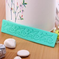 Lace Decorative Mold Fondant Sugar Craft Silicone Mould