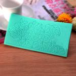 Lace Dekorativ Form Fondant Sugar Craft Silikon Tårta Utstickare Kök