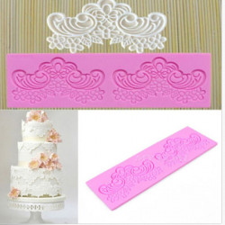 Lace Fondant Silicone Cake Mould Chocolate Craft Mold Baking Tools