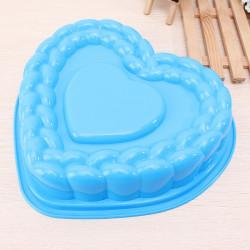 Stor Hjerte Form Silikone Kage Pan Form Bradepande Bakke